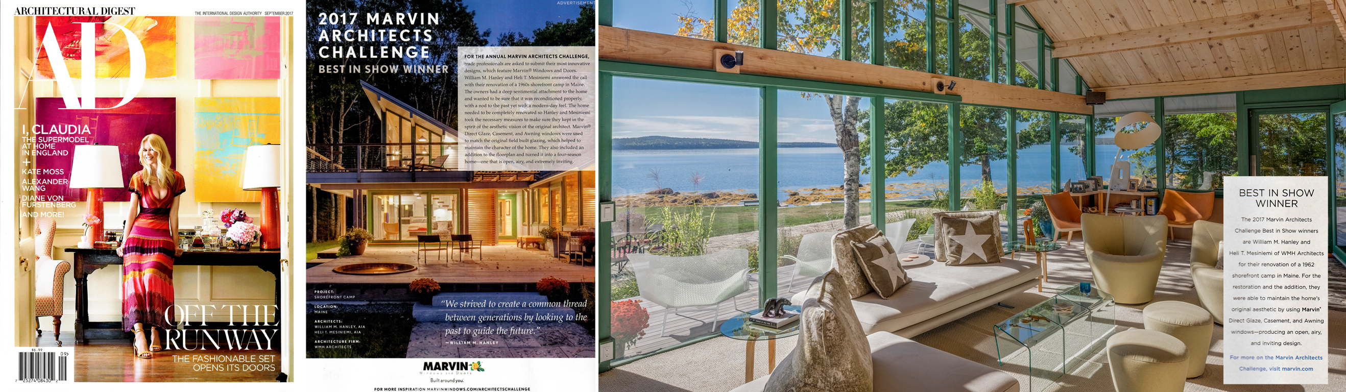 ARCHITECTURAL DIGEST September 2017. Photography By Brian Vanden Brink