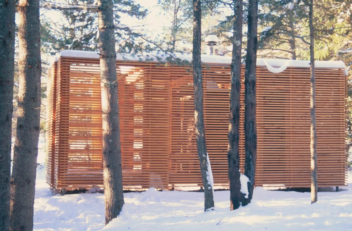 Sauna North Elevation