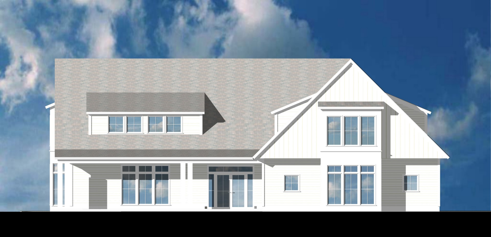 Eastlight Rendered Elevation